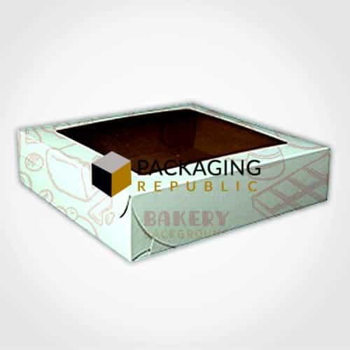 pie boxes with logo