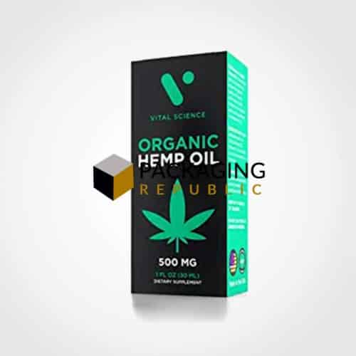 hemp oil box manufacturer company