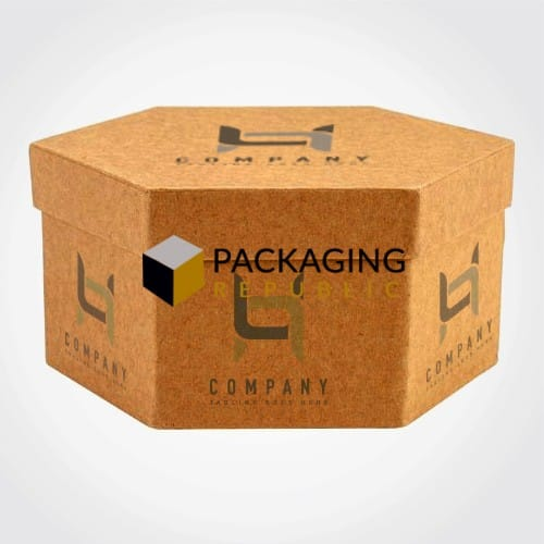 hexagon 2 pc packaging boxes